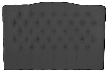 LORENZO Sänggavel 180x120 Mörkgrå