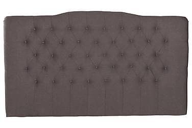 LORENZO Sänggavel 210x210 Ljusgrå