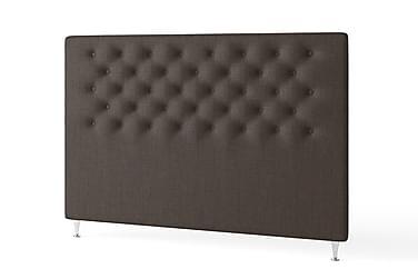 Sänggavel 180 Knappar Klassisk Brun