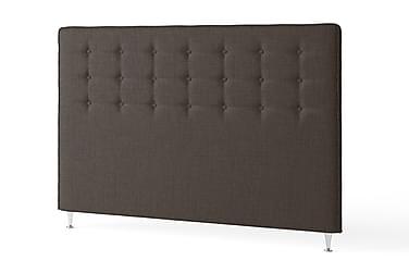 Sänggavel 180 Knappar Modern Brun