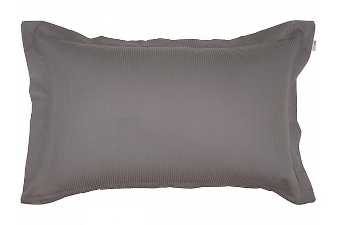 ALDERNEY Örngott 50x60 cm Satin Koksgrå - Möbler & Inredning - Sängar - Sängkläder