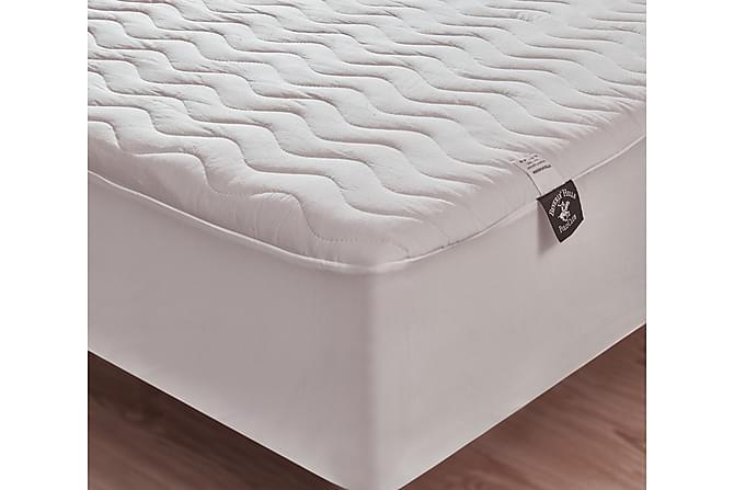 BEVERLY HILLS POLO CLUB Madrasskydd Dubbelt 160x200 Vit - Inomhus - Sängar - Sängkläder