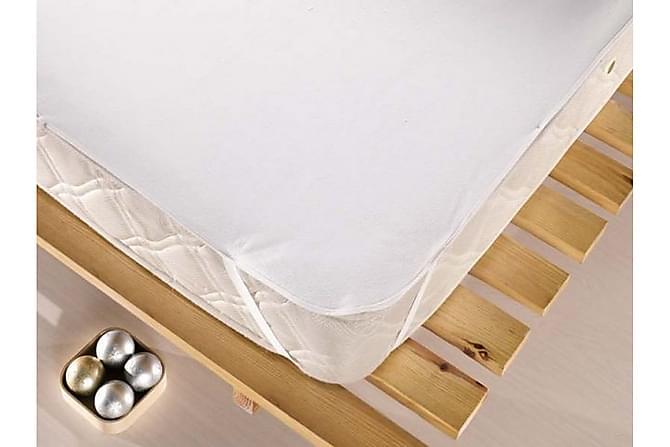 EPONJ HOME Madrasskydd Dubbelt 160x200 Vit - Inomhus - Sängar - Sängkläder