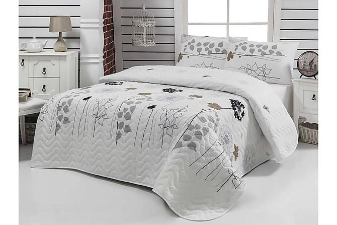 EPONJ HOME Överkast Dubbelt 200x220 Quilt+2 Örngott Vit - Inomhus - Sängar - Sängkläder