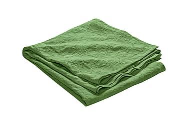 FIONA Överkast 180 Mönstrad Grön