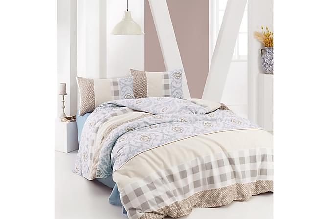 MARIE CLAIRE Bäddset Enkelt 3-dels Beige - Inomhus - Sängar - Sängkläder