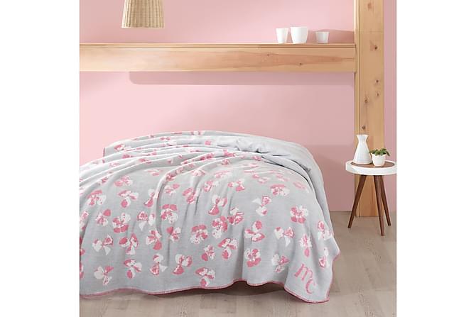 MARIE CLAIRE Överkast Dubbelt 200x220 Grå/Rosa/Vit - Inomhus - Sängar - Sängkläder