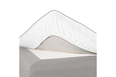 ZEBRA fitted sheet, vit, 140x210