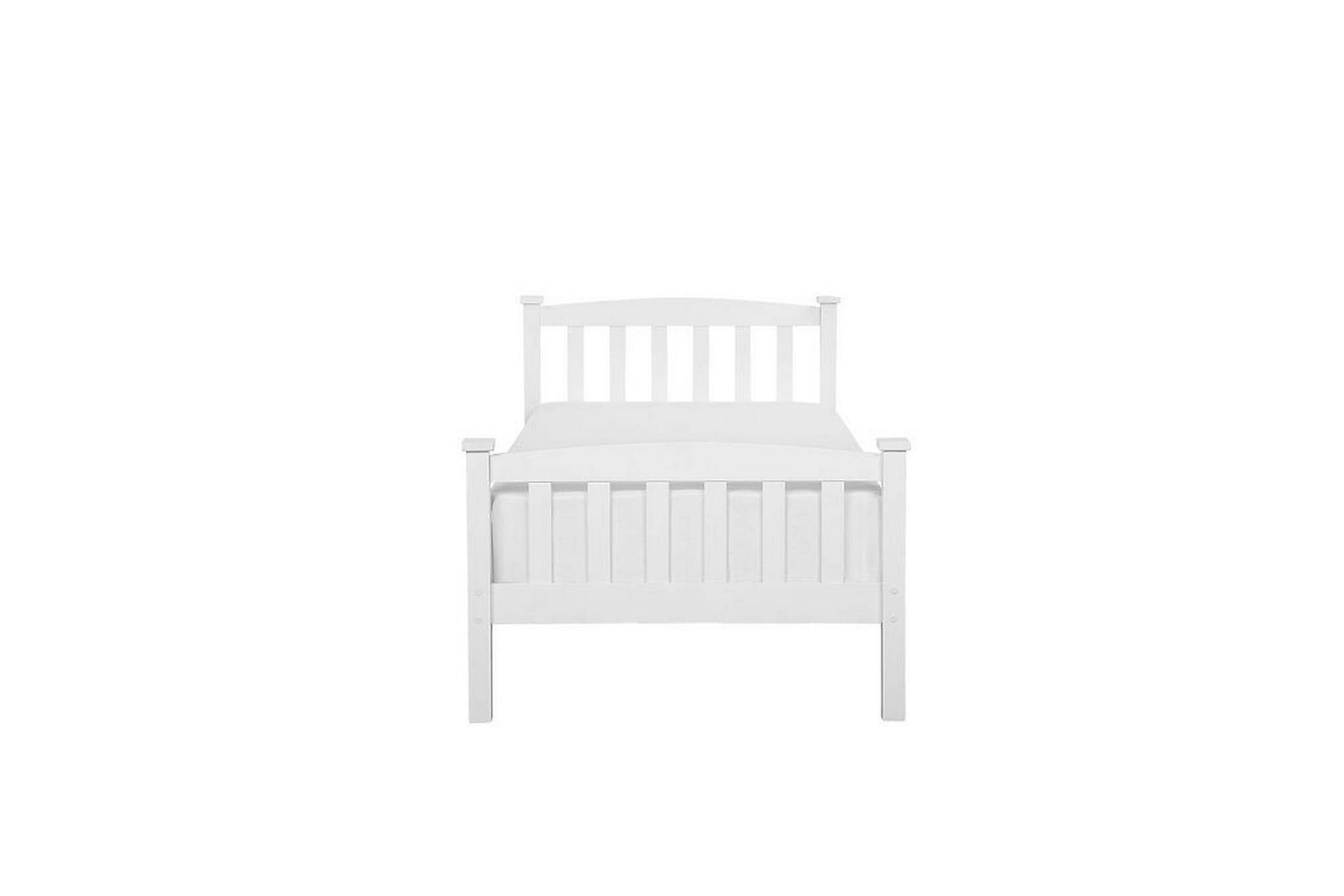 KREUN Säng Trä 90×200 cm Vit