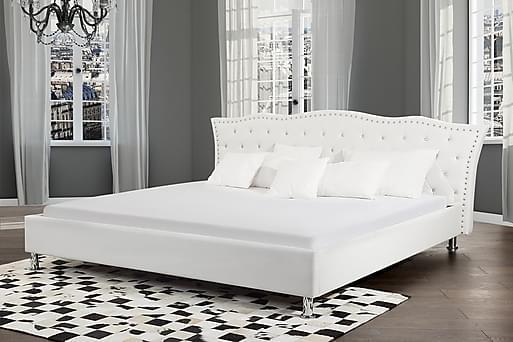METZ Dubbelsäng 160 200 cm, Sängram & sängstomme