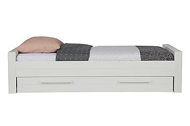 NICHOLS Säng 90x200 Vit