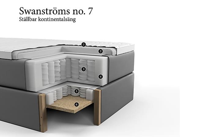 SWANSTRÖMS Ställbar Säng No 7 105x210 - Medium - Möbler & Inredning - Sängar - Ställbara sängar