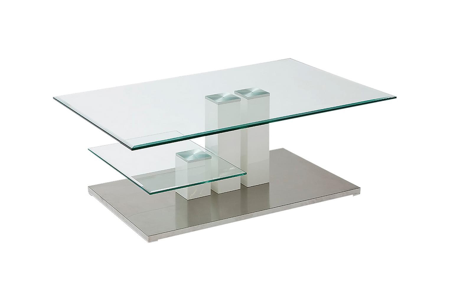 HOLMSVEDEN Soffbord 110 Metall/Glas