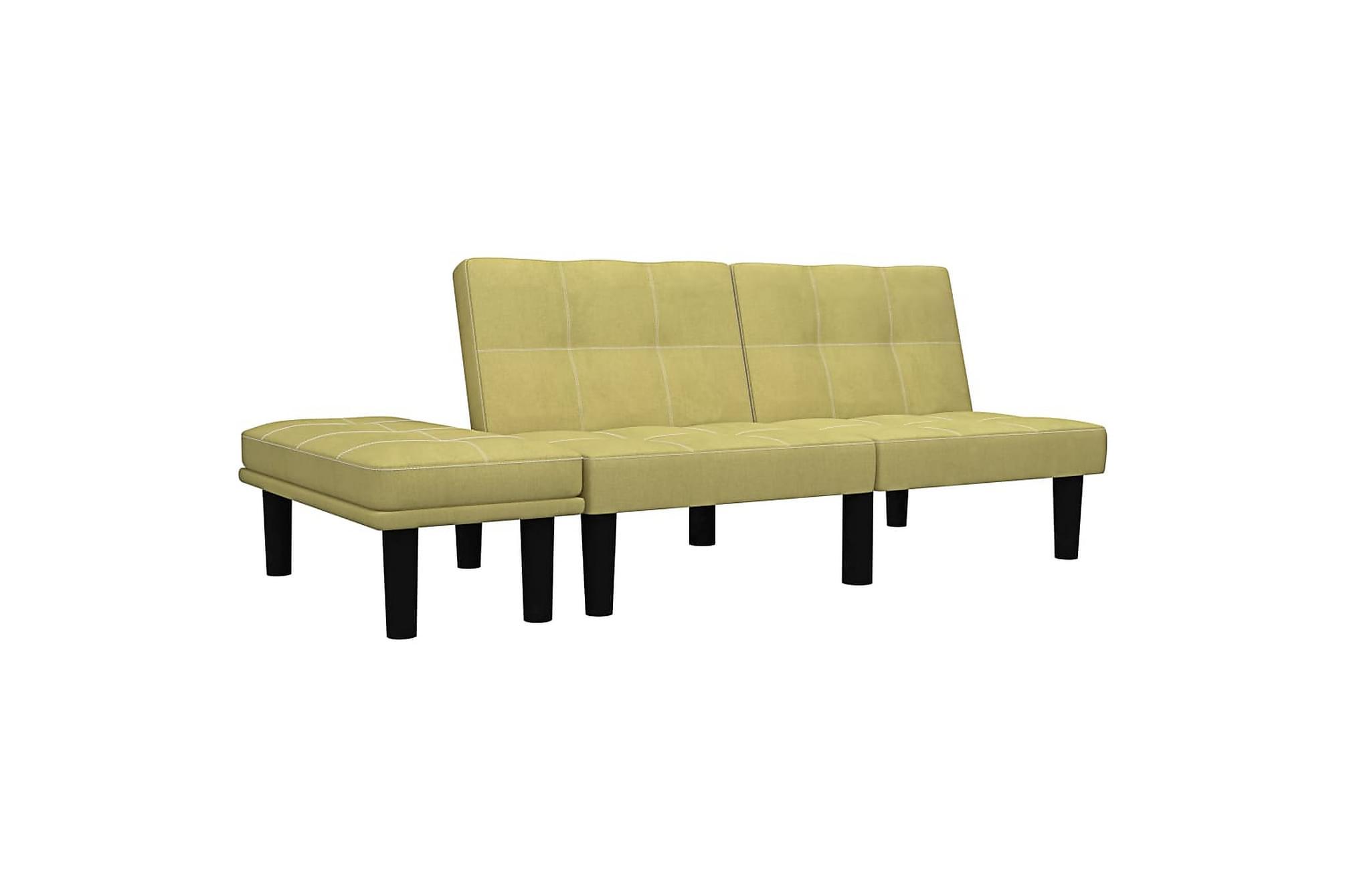 2-sitssoffa grön tyg, 2-sits soffor