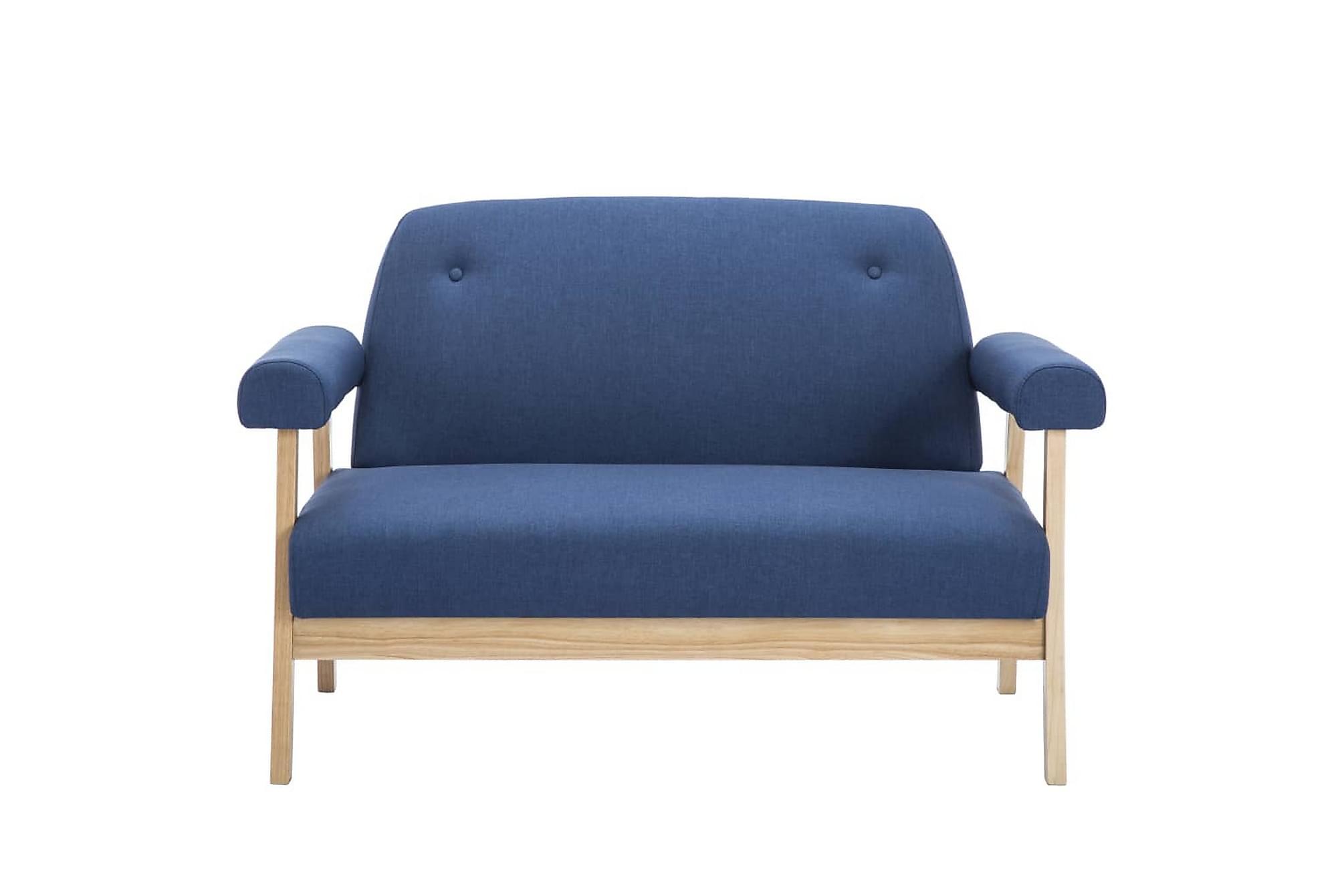 2-sitssoffa tyg blå, 2-sits soffor