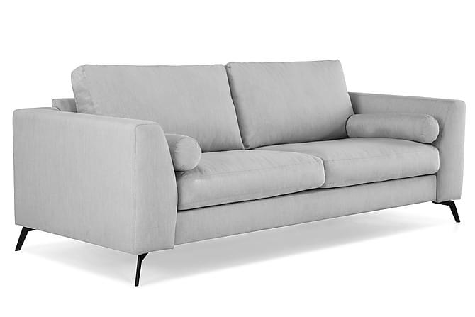 NASHVILLE LYX 3-sits Soffa Grå - Möbler & Inredning - Soffor - 2-sits soffor