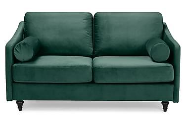 RICARDI Sammetssoffa 2-sits Grön