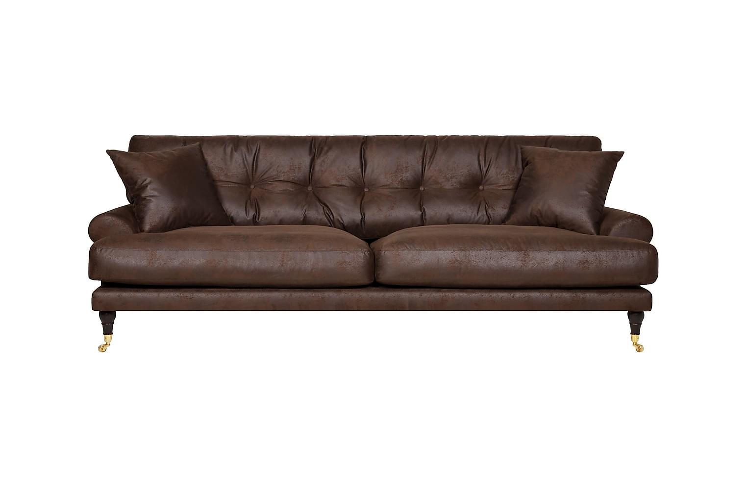 Andy ANDY 3-sits Soffa Antikbrun -