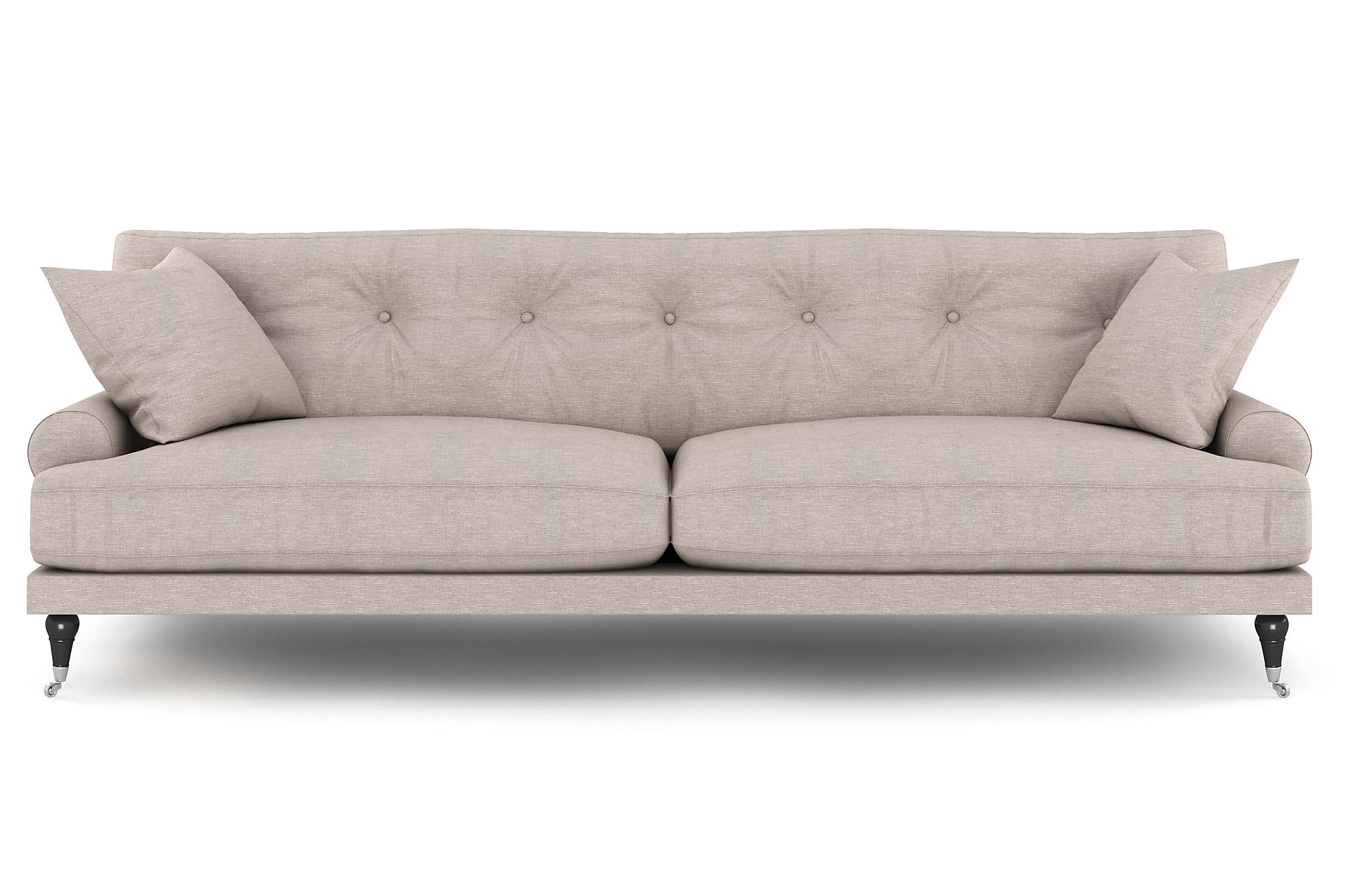 ANTHONY 3-sits Soffa Beige/Krom