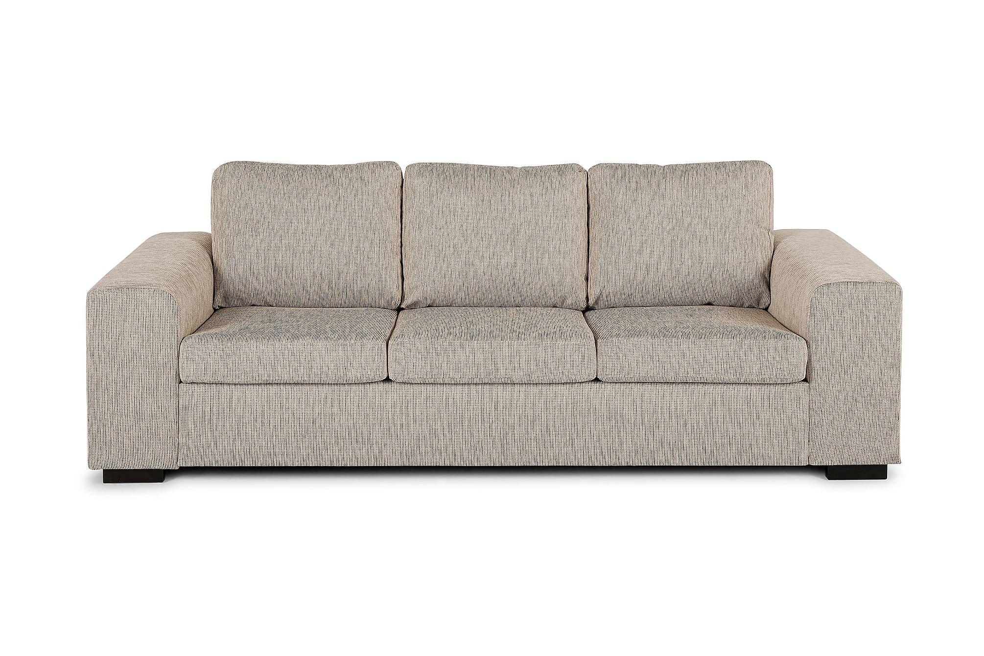CONNECT 3-sits Soffa Beige