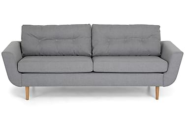 ELYSIA 3-sits Soffa Ljusgrå