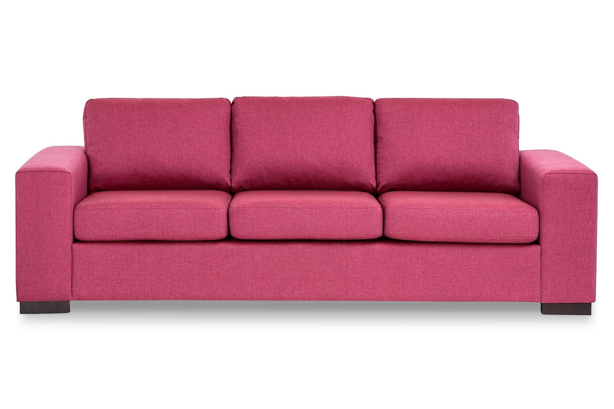 KENT 3-sits Soffa Rosa