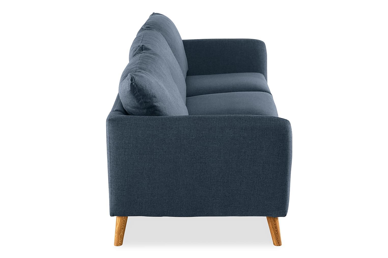 OSCAR 3-Sits Soffa Blå -