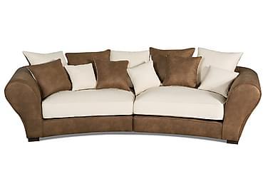 SOMA 3-sits Soffa Brun/beige
