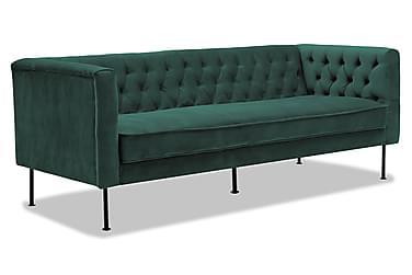 TILIA 3-sits Soffa Grön