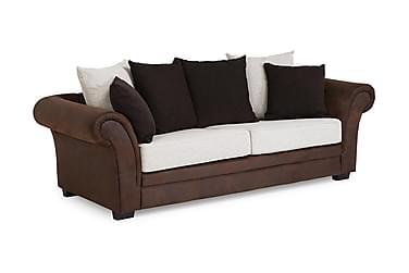 VINTON 3-sits Soffa Brun/Beige