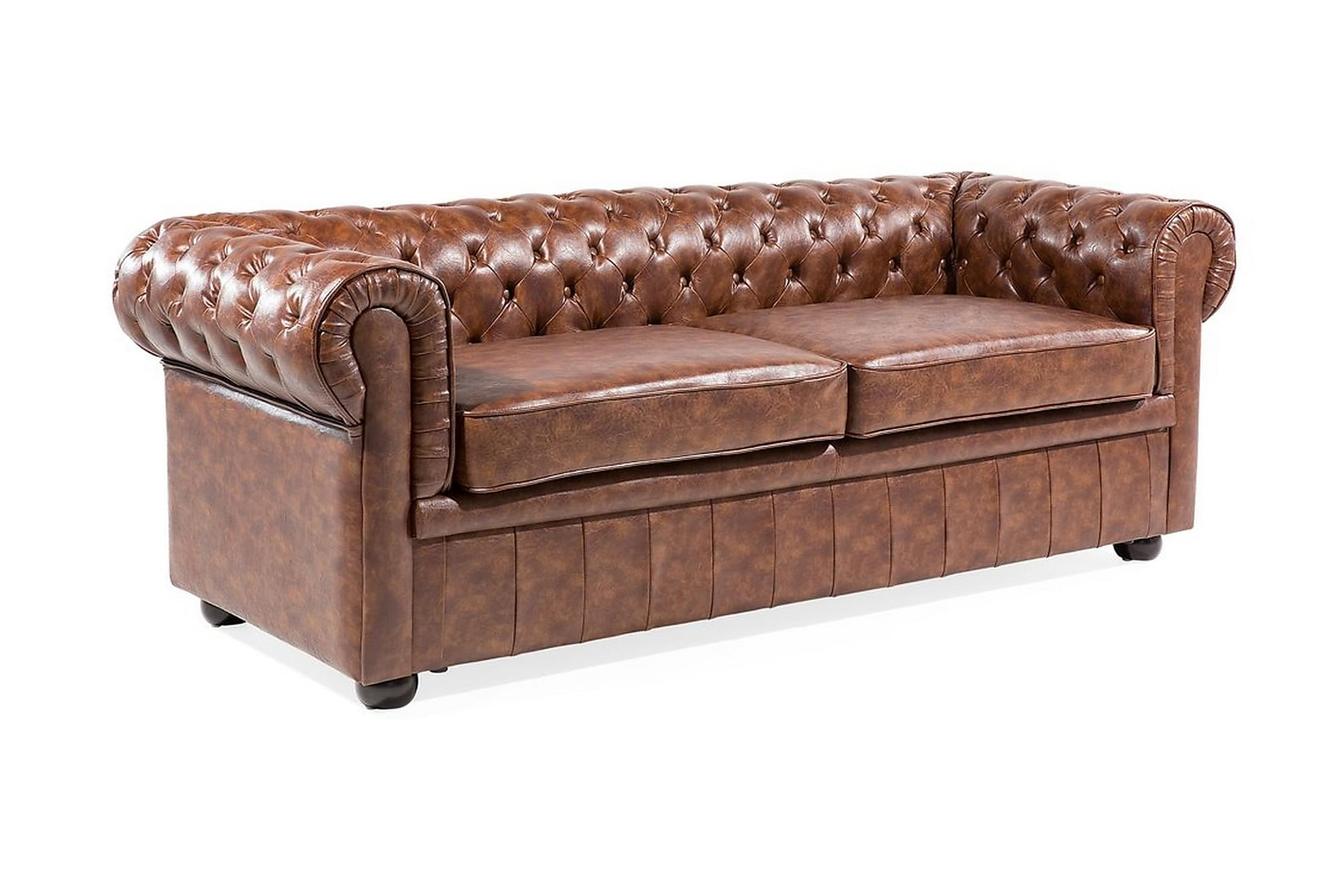 CHESTERFIELD Soffa 2-4 sits