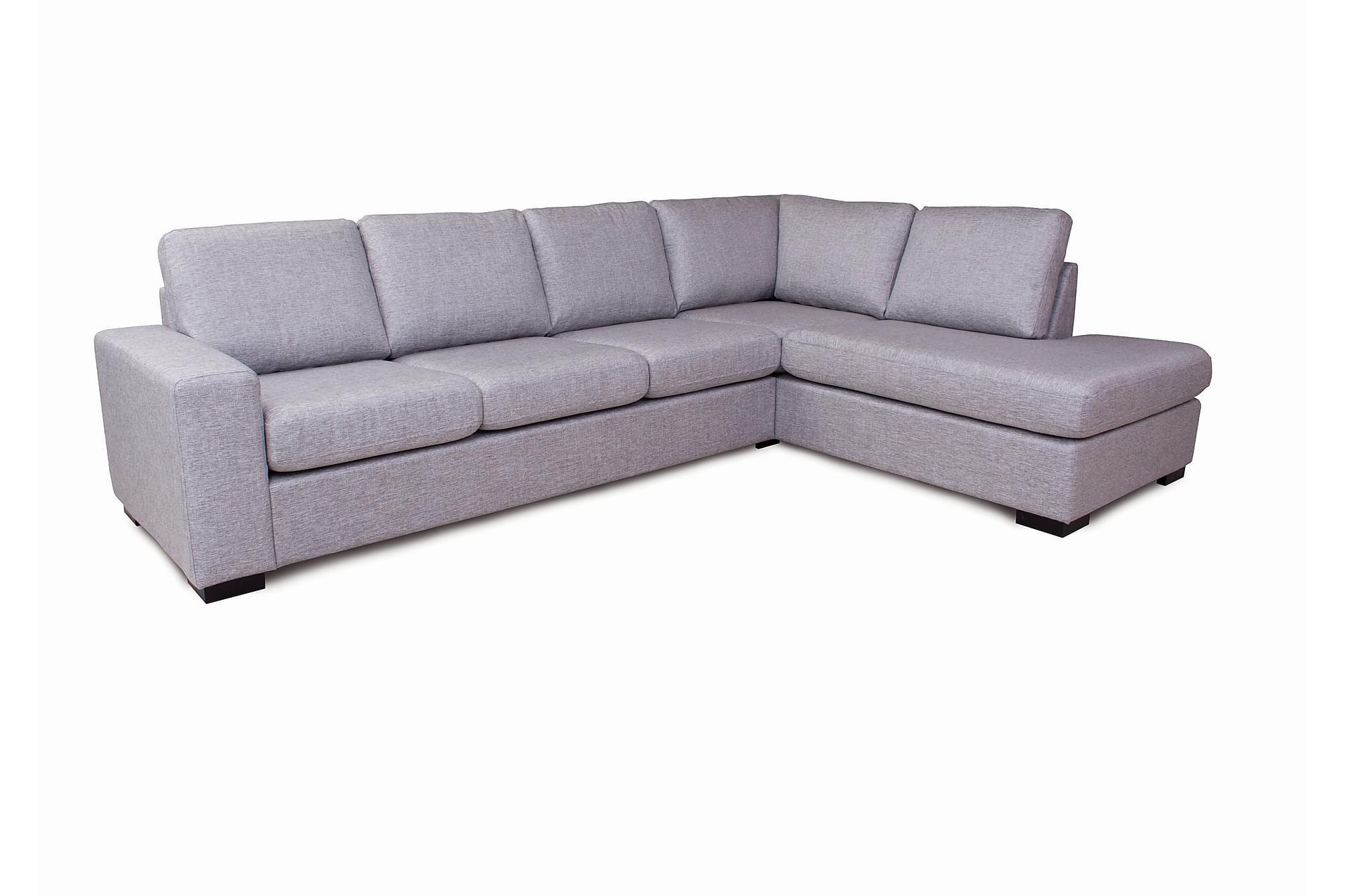 Bergsvallen u-soffa grå