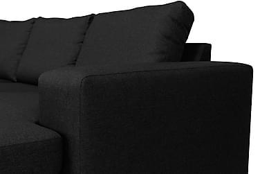 HAVANA U-soffa Large med Divan Höger Mörkgrå