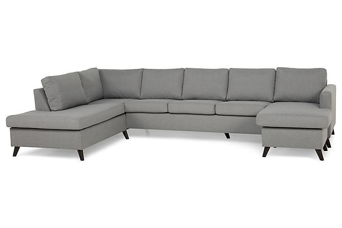 JAN U-soffa Large med Divan Höger Ljusgrå - Inomhus - Soffor - Divansoffor