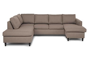 JAN U-soffa med Divan Höger Beige