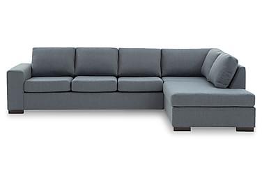 KENT 4-sits Soffa med Schäslong Large Höger Blå