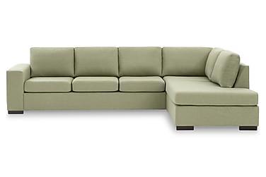 KENT 4-sits Soffa med Schäslong Large Höger Grön