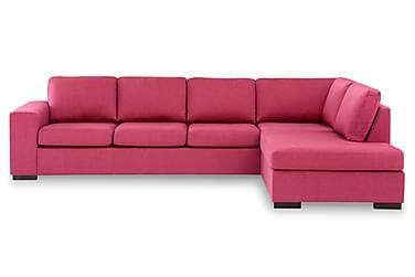 KENT 4-sits Soffa med Schäslong Large Höger Rosa