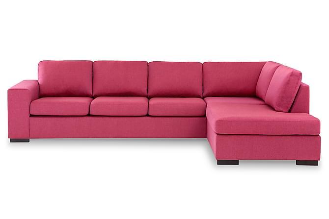 KENT 4-sits Soffa med Schäslong Large Höger Rosa - Möbler & Inredning - Soffor - Divansoffor