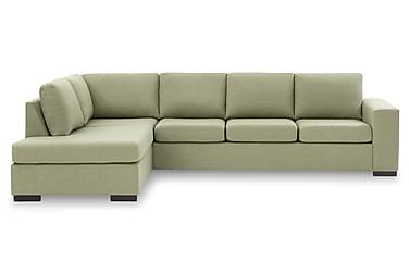 KENT 4-sits Soffa med Schäslong Large Vänster Grön