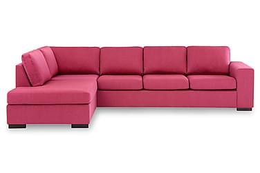 KENT 4-sits Soffa med Schäslong Large Vänster Rosa