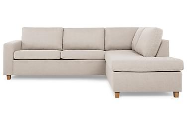 NEW YORK 2,5-sits Soffa med Schäslong Höger Beige