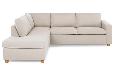 NEW YORK 2,5-sits Soffa med Schäslong Vänster Beige