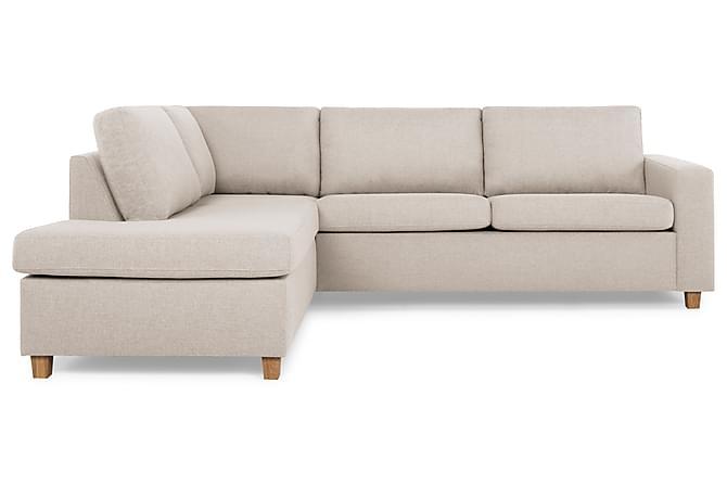 NEW YORK 2,5-sits Soffa med Schäslong Vänster Beige - Möbler & Inredning - Soffor - Divansoffor