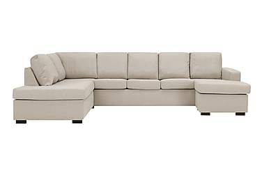 NEW YORK U-soffa XL Divan Höger Beige