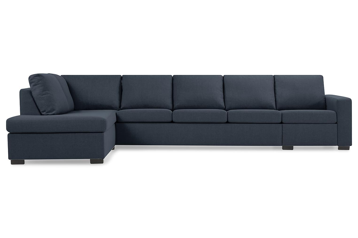 New NEW YORK XL L-Soffa Vänster Mörkblå -