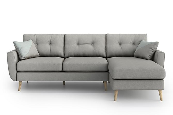 OSLO Divansoffa Ljusgrå - Möbler & Inredning - Soffor - Divansoffor