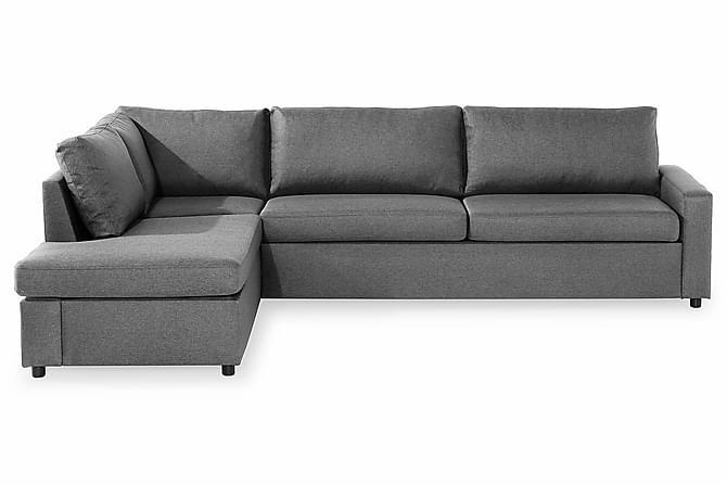 WENDELA L-Soffa Vänster Ullimitation Beige - Skräddarsy färg och tyg - Möbler & Inredning - Soffor - Divansoffor