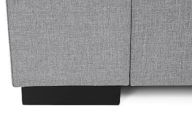 FRASSE 3-sits Soffa Cozy Hörn Vänster Kuvertkuddar Ljusgrå