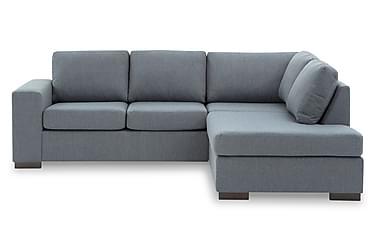 KENT 3-sits Soffa med Schäslong Höger Blå